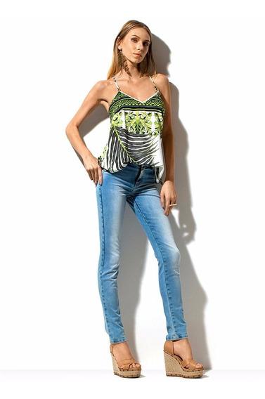 Calça Jeans Feminina Cós Intermediário Morena Rosa R. 202620