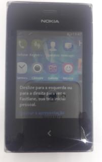 Nokia Asha 500 Dual Preto Original Semi Novo