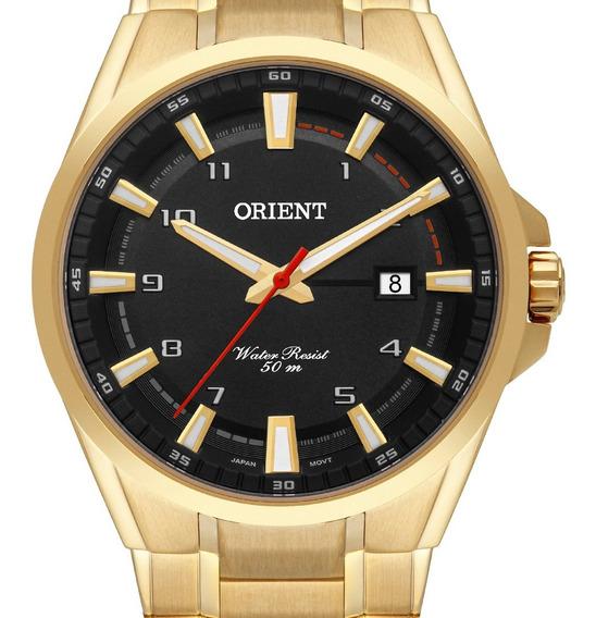 Relógio Orient Masculino Sport Dourado Mgss1188 P2kx