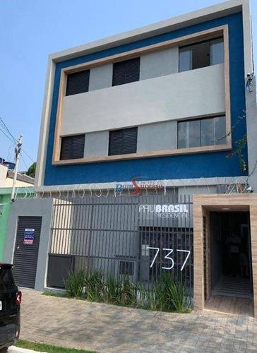 Imagem 1 de 17 de Apartamento Com 2 Dormitórios À Venda, 39 M² Por R$ 250.000,00 - Tatuapé - São Paulo/sp - Ap2940