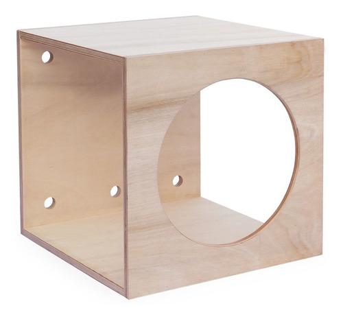 Cubo Pikler Montessori Psicomotricidad Bebés Niños Plano A