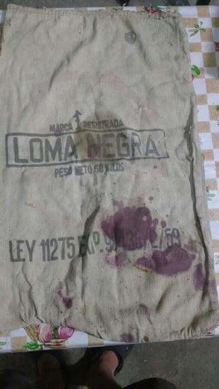 Antigua Bolsa Del Año 1926 De 50 Kg Loma Negra