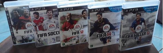 Jogos Fifa Ps3: 2010 2011 2012 2013 2014-escolha 4