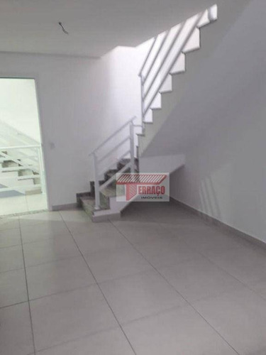 Cobertura Com 2 Dormitórios À Venda, 57 M² Por R$ 398.415,27 - Vila Pires - Santo André/sp - Co0642