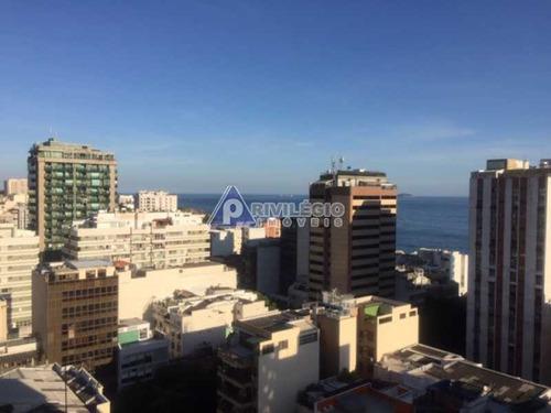 Apartamento À Venda, 1 Quarto, 1 Vaga, Ipanema - Rio De Janeiro/rj - 16049
