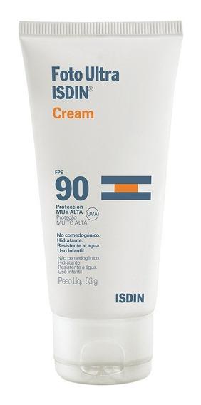 Fotoprotetor Facial Isdin - Fotoultra Cream Fps 90 50g