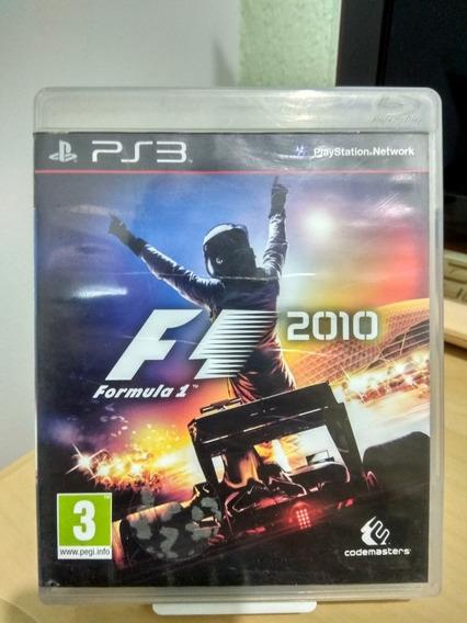 F1 Fórmula 1 2010 Ps3 Usado