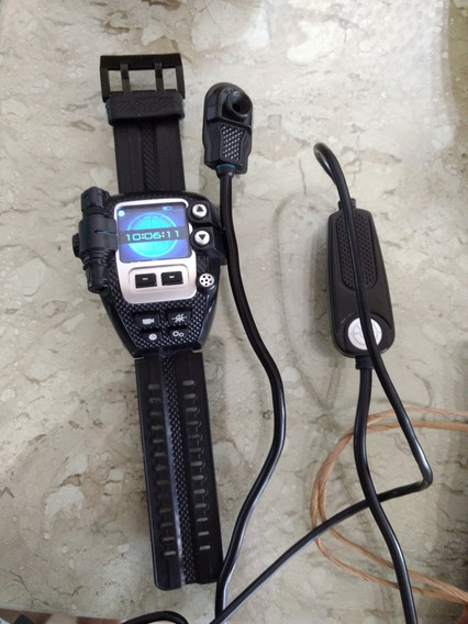 Relógio Espião Spynet + Snake Cam