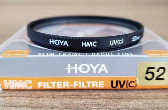 Filtro Uv Hoya 52mm Hmc Slim Para Lentes Nikon Canon Sigma