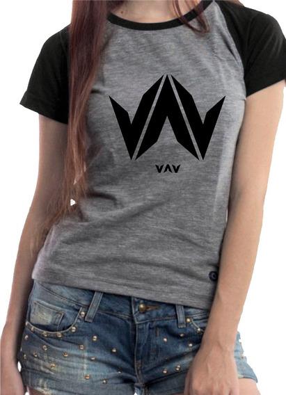 Camiseta Babylook K-pop Vav Ayno Personalizada + Brinde