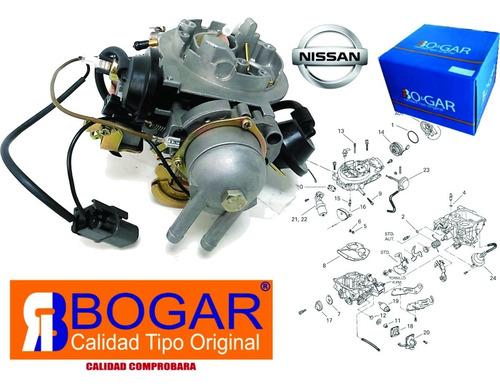 Imagen 1 de 6 de 1 Carburador De 2 Gargantas Para Nissan Ichivan 1.8l 87-91 Tsuru Ii 89-91 B12 Bogar Envío Gratis Nuevo Garantizado