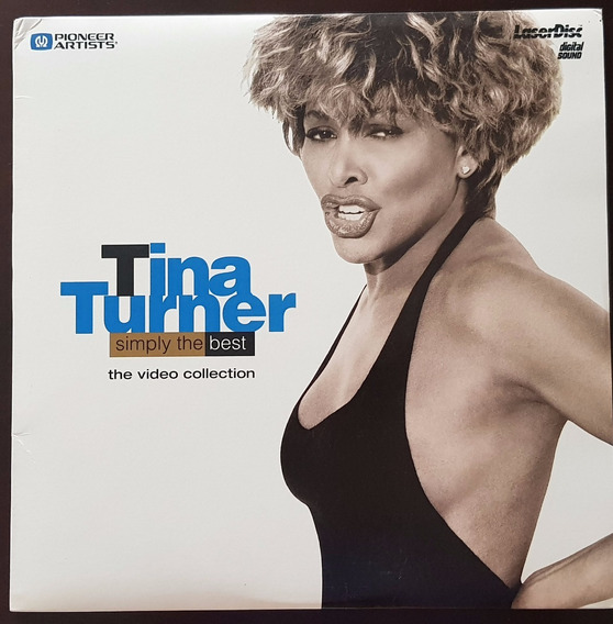 Laserdisc Tina Turner - Simply The Best The Video Collection