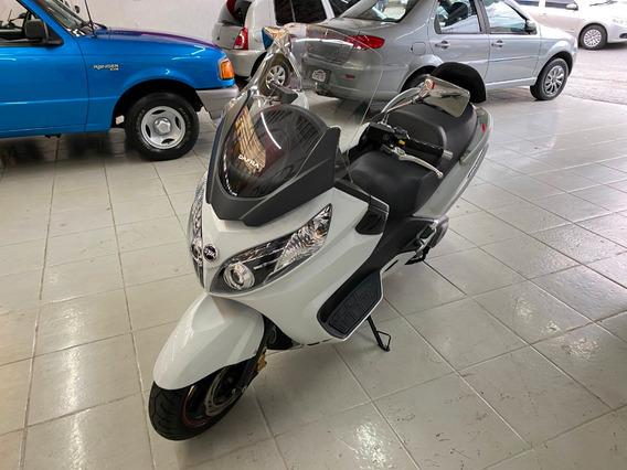 Dafra Maxsym 400i Branca 2019 Gasolina Impecável !!
