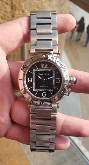 Reloj Cartier Pasha Seatimer Automático W31077m7
