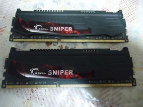 Memória Ddr3 G Skill Sniper 2400mhz 32gb (4 X 8gb) 100%