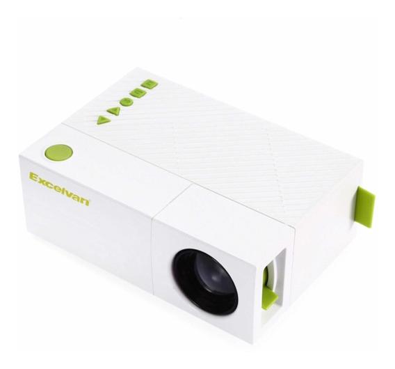 Yg310 - Mini Projetor Lcd 600lm 1080 P - Portátil