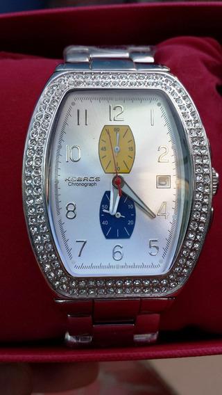 Relógio K And Bros Kbross + 2 Pulseiras Raridade.frete Gráti