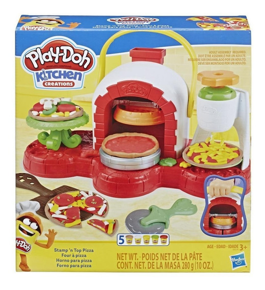 Massinha De Modelar Kit Kitchen Creations Forno De Pizza