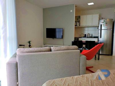 Apartamento Com 1 Dormitório Para Alugar, 44 M² Por R$ 1.700/mês - Caminho Das Árvores - Salvador/ba - Ap0279