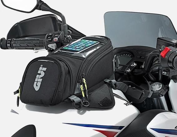 Bolsa Magnetica Givi Tanque Moto 6 L Capa Impermeável Ea106b