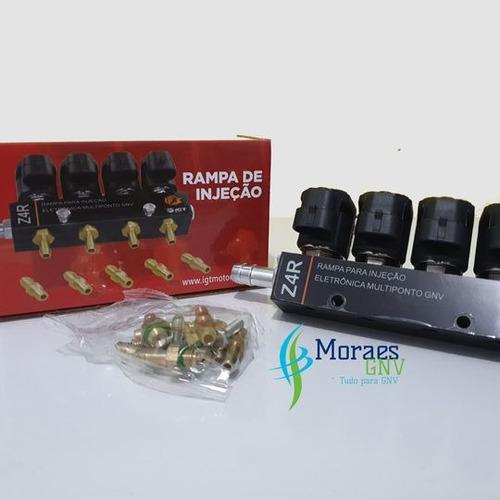 Rampa Injeção Zeus Z4 Original Igt+ Válvula Cilindro Pressor