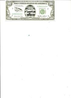 Estados Unidos: Billete 100 Dolares Fantasía