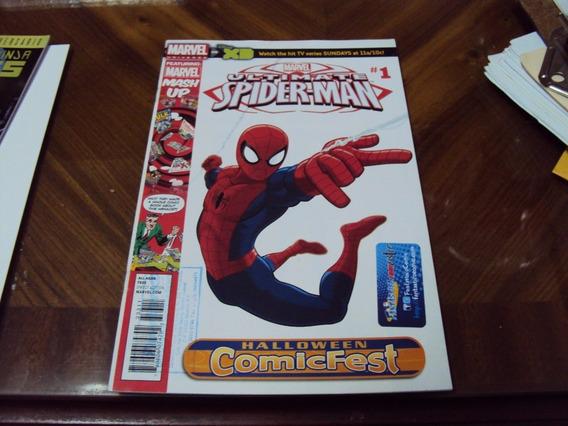 Comic Ultimate Spiderman Numero 1 Marvel Halloween Comicfest