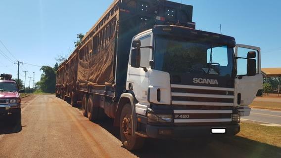 Scania 420 6x4 2007 Canavieiro Traçado Unico Dono R$ 135.000