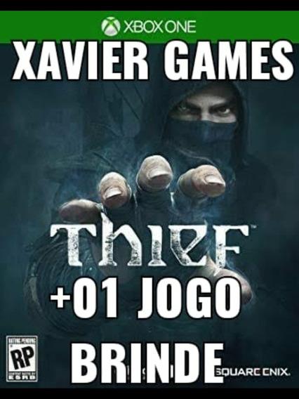 Thief Xbox One - Midia Digital + 01 Jogo Brinde