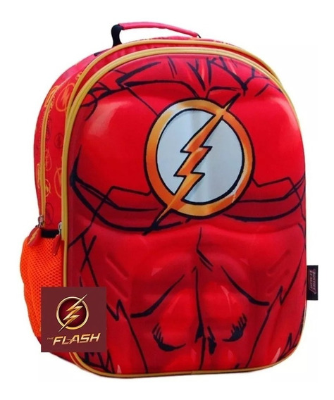 Mochila Liga De La Justicia 16 PLG Superman O Flash O Batman