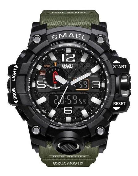 Relógio Smael Tático Militar Prova D