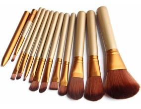 Kit Pincel Pinceis Maquiagem Profissional 12 Pronta Entrega
