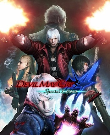 Devil May Cry 4 Special Edition (pc - Dvd)