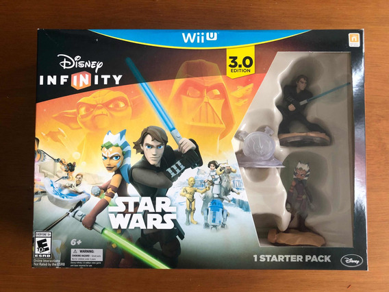 Disney Infinity 3.0 Star Wars Starter Pack Wii U Lacrado