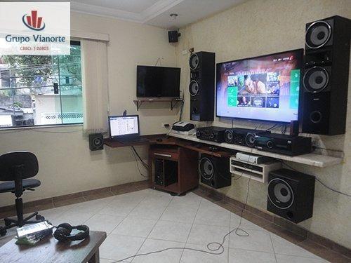 Casa A Venda No Bairro Mandaqui Em São Paulo - Sp.  - W28-1