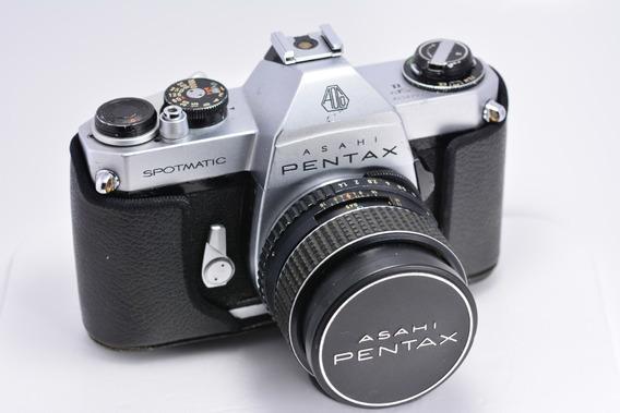 Camera Asahi Pentax Spotimatic Spii + Lente Pentax Smc 1.4
