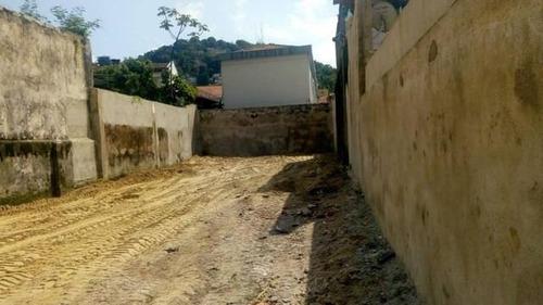 Terreno Para Alugar, 423 M² Por R$ 2.000,00/mês - Paquetá - Santos/sp - Te0150