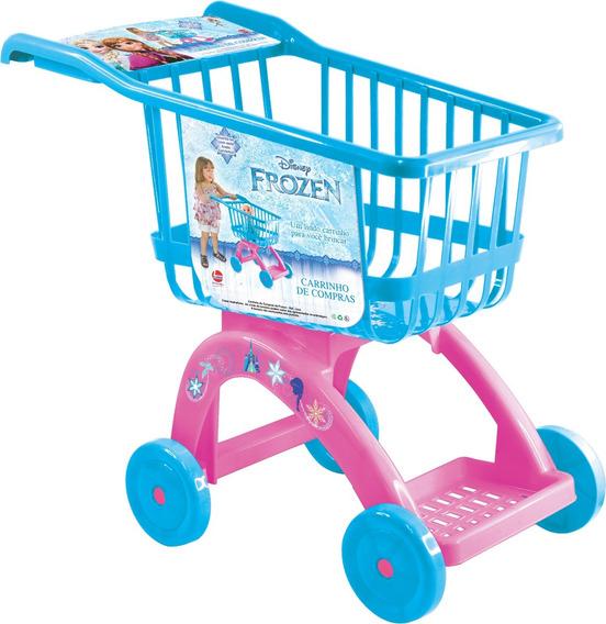 Carrinho De Compras Supermercado Frozen Líder Brinquedo