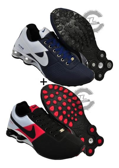 Tênis Nike Sxhox Deliver Classic 4 Molas Promoção Kit 2 Par