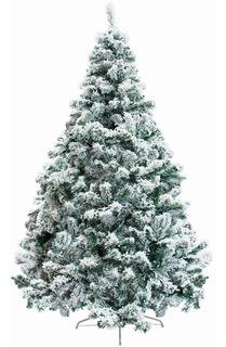 Arbol Navidad Artificial Nevado 1.90 M Follaje Jardimex Pino