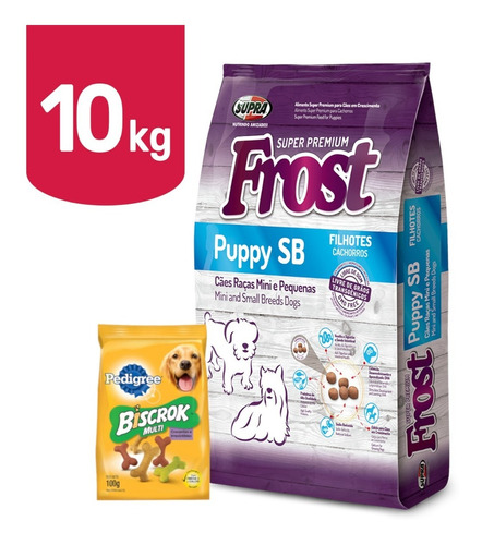 Frost Cachorro Raza Pequeña 7,5k+ Promo -ver Foto- + Envío!!