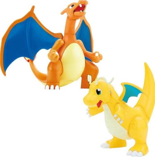 Imagen 1 de 2 de Pokémon Model Kit Charizard & Dragonite