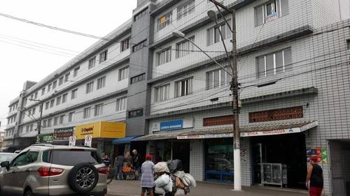 Imagem 1 de 13 de Apartamento Com 1 Dormitório À Venda, 46 M² Por R$ 160.000 - Centro - Mongaguá/sp - Ap0086