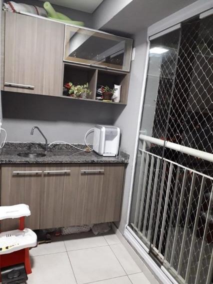Apartamento Com 3 Dormitórios À Venda, 60 M² Por R$ 371.000,00 - Vila Pires - Santo André/sp - Ap10855