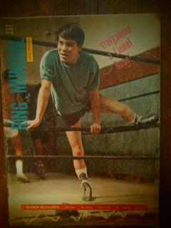 Ruben Puas Olivares Foto En Portada Ring Mundial Box 1969