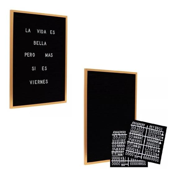 Letter Board Cartel Cartelera Vintage Grande Pizarra Letras