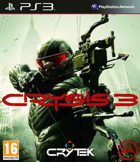 Crysis 3 Ps3 Original Entrega Inmediata