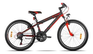 Bicicleta Aurora 24 Asx Mountain Bike R24 Aluminio 18v *