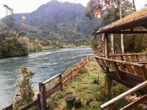 Hermoso Lodge En Ralun A Orillas Del Río Petrohue