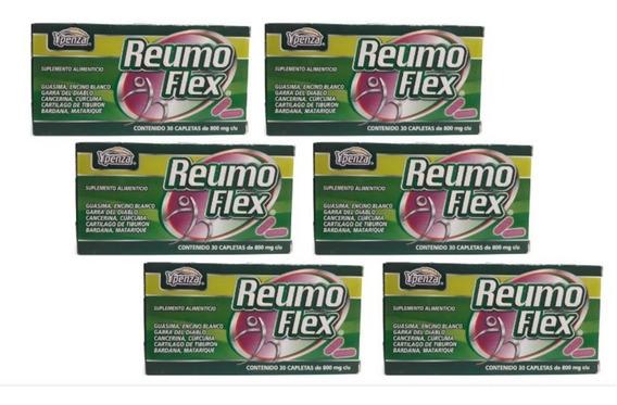 Reumo Flex Ypenza Verde 30 Capletas (6 Piezas) Envio Full
